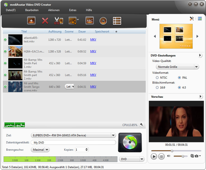mediAvatar Video DVD Creator