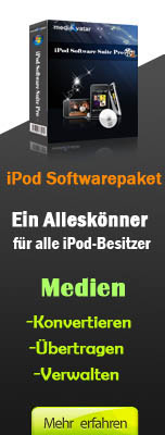 mediAvatar iPod Softwarepaket Mac